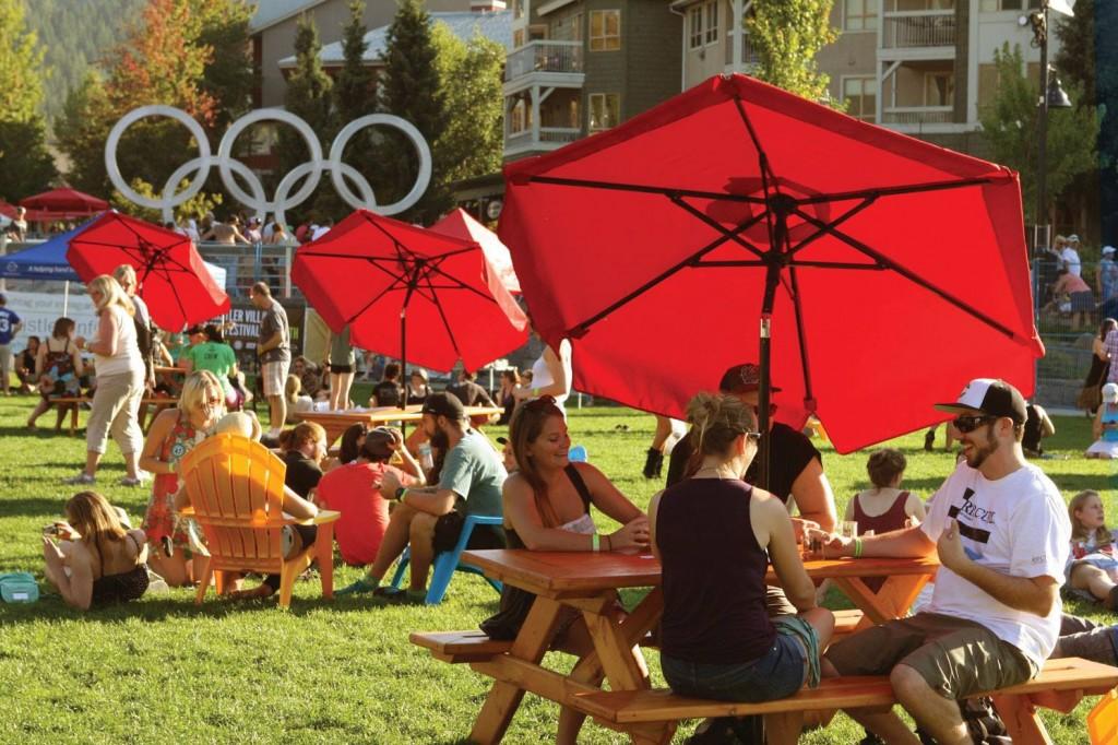 Olympic Village at Whistler Village Beer Festival