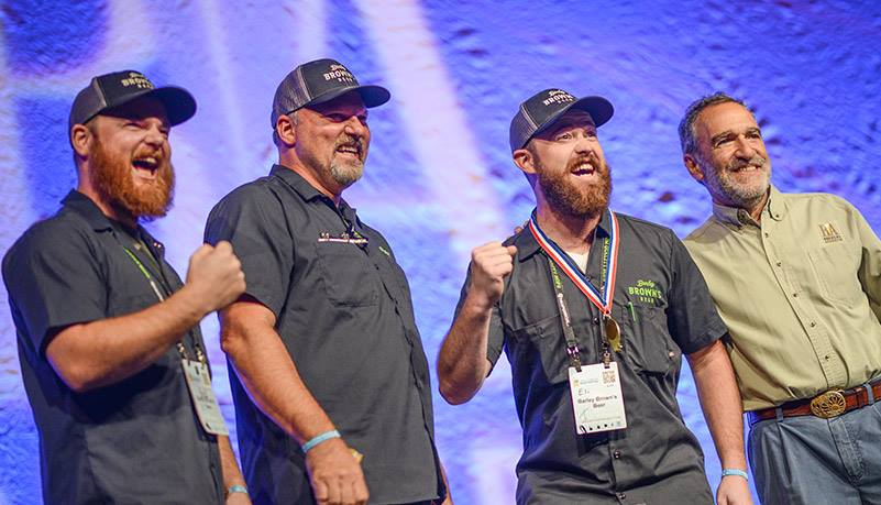 Barley Browns Takes Home 4 Medals at the 2014 GABF (Photo © Brewers Association)