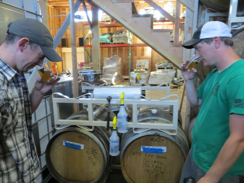 Bolt Minister of Old Town Brewing & Rodney Stryker of Heathen Brewing