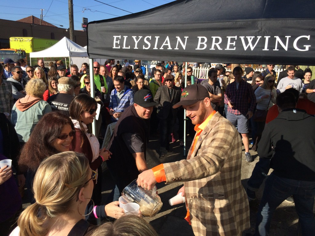 Elysian's David Chappel at Killer Pumpkin Festival at Green Dragon