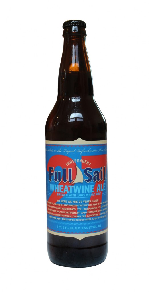 Full Sail 27 Wheatwine Bottle
