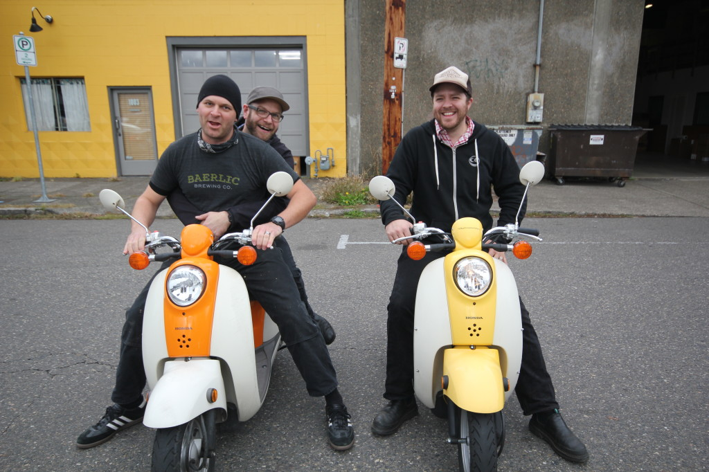 Baerlic stunt scooter brew crew gears up for Primeval Knieval tribute release