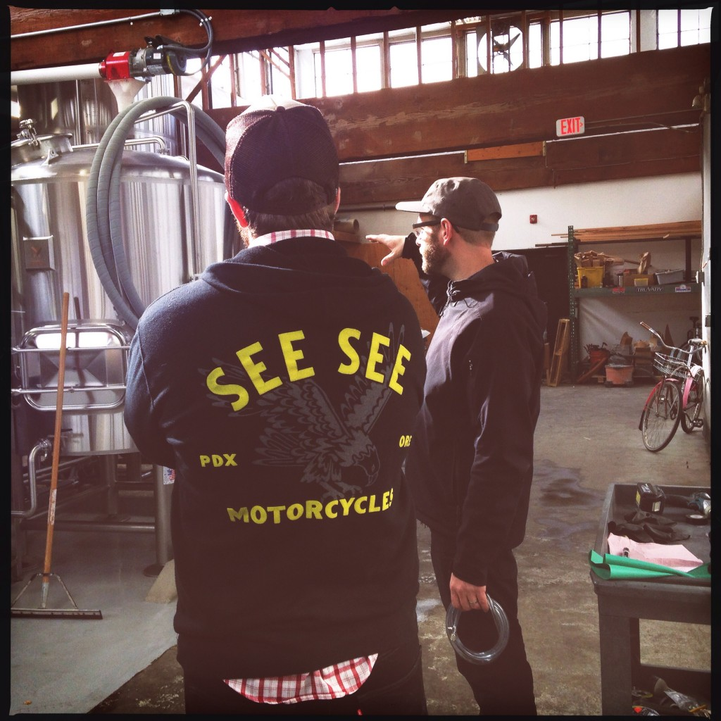 See See Motorcycle and Baerlic Brewing Co. collaborate on a tribute brew to Evel Knieval