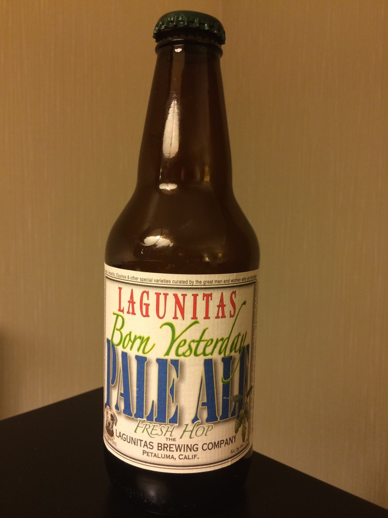 Lagunitas Born Yesterday Fresh Hop