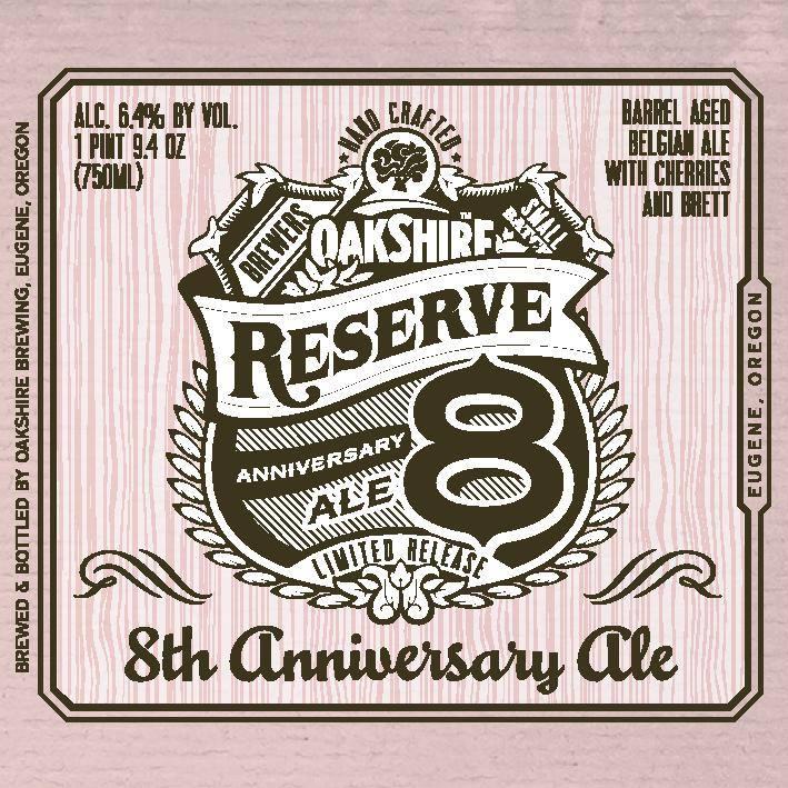 Oakshire 8th Anniversary Ale