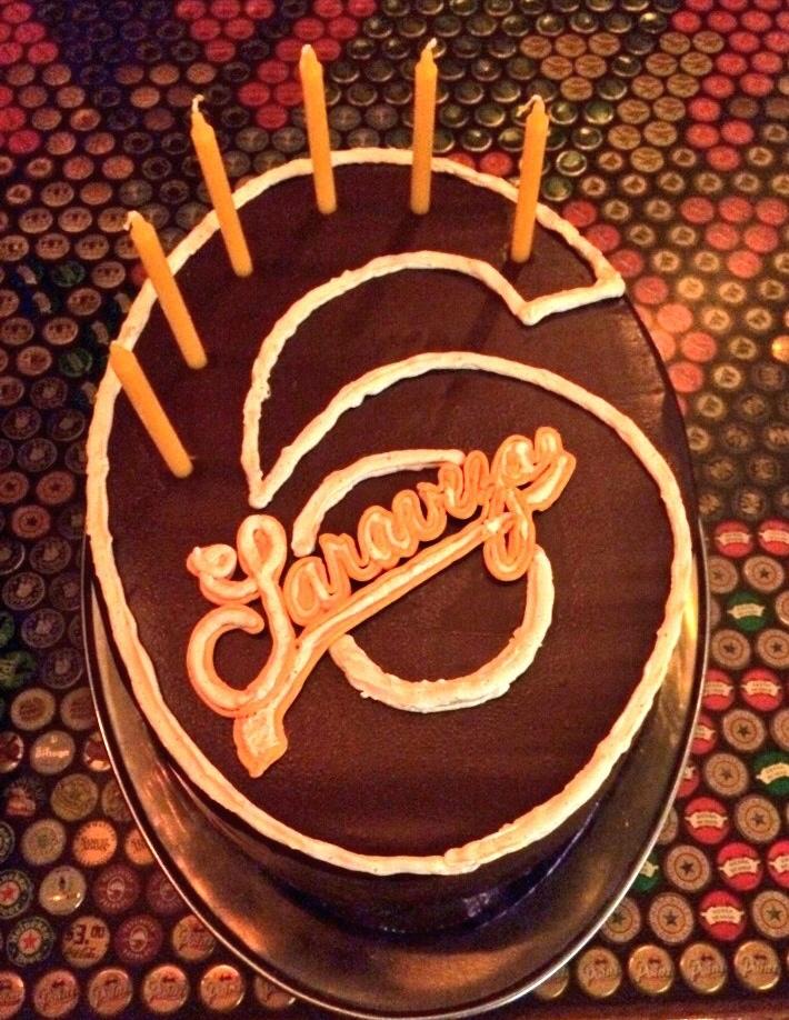 Saraveza 6th Anniversary Cake