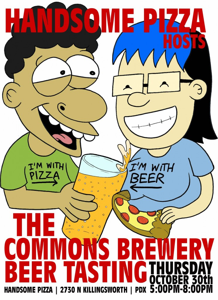 The Commons & Handsome Pizza