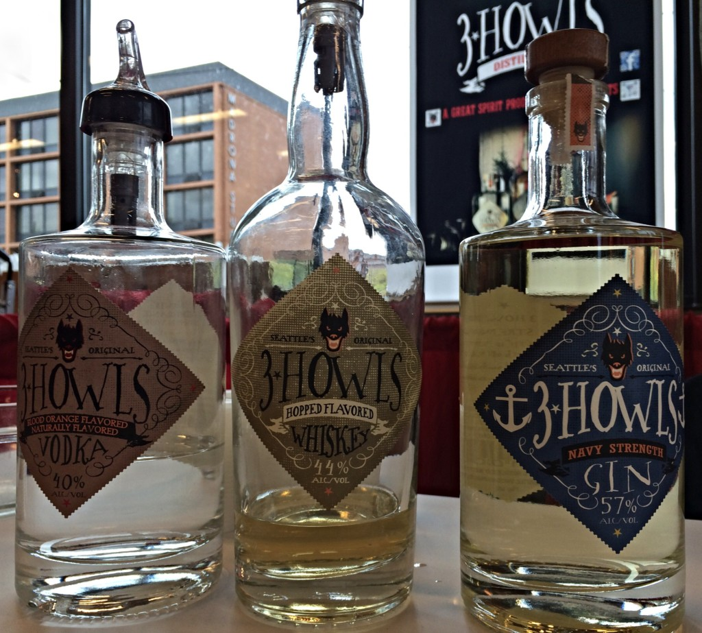 3 Howls Distillery of Seattle WA