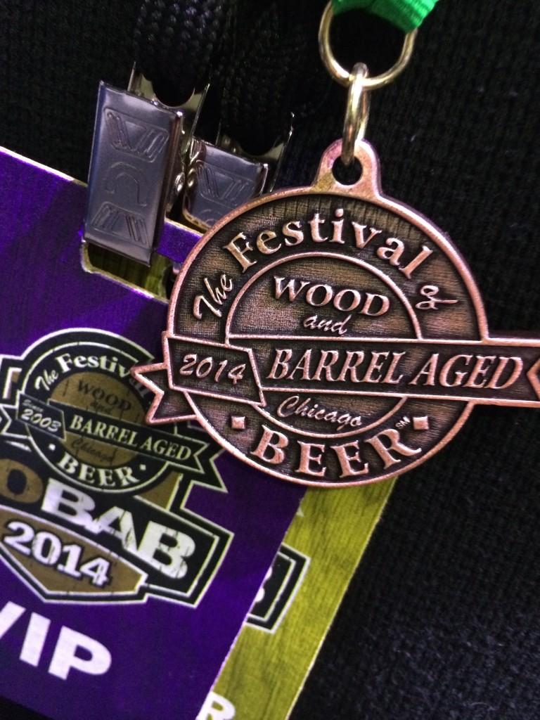 Bronze 2014 FoBAB Medal