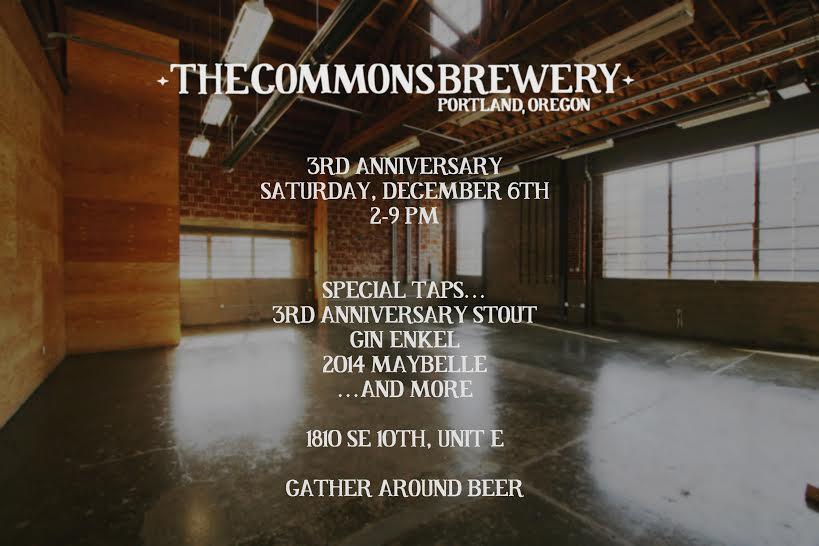 Commons 3rd Anniversary