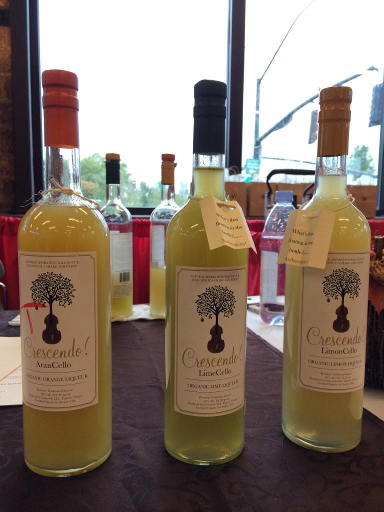 Crescendo Organic Liqueurs of Eugene, OR