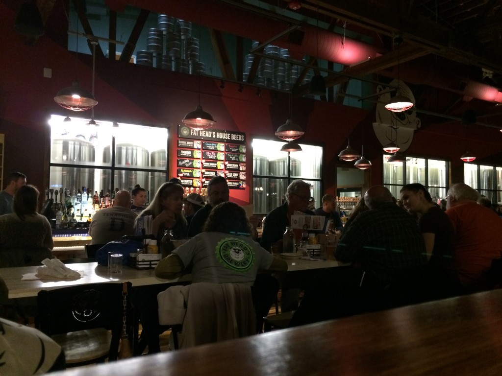Fat Head's Portland Bar Area