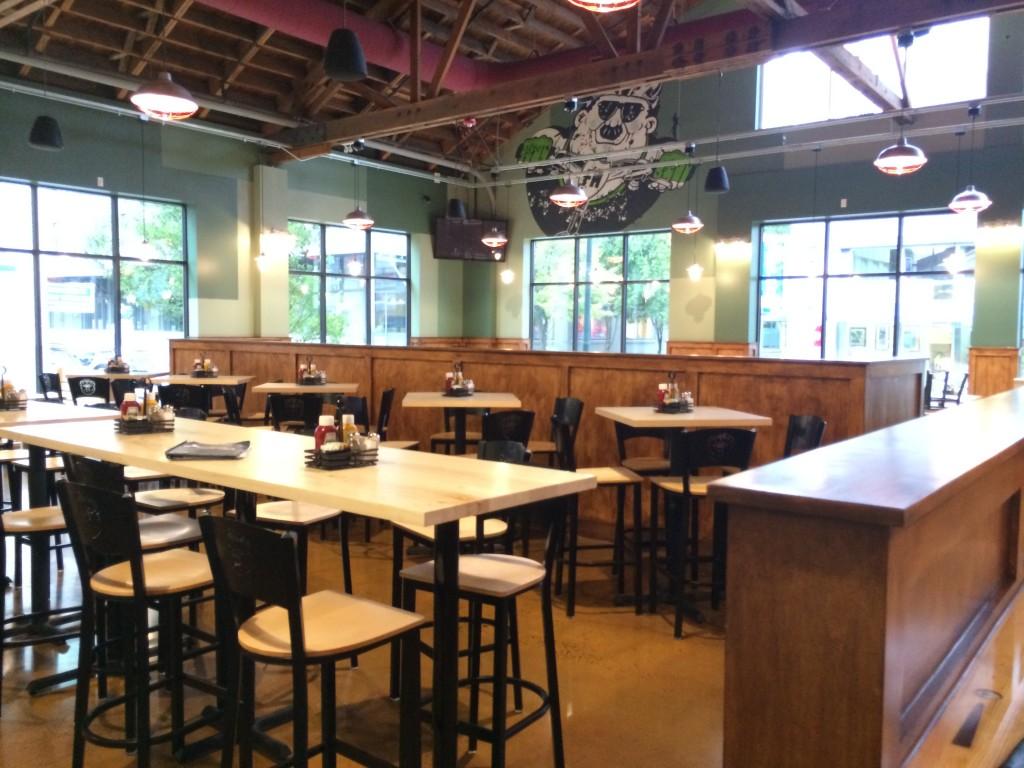 Fat Head's Portland Dining Area