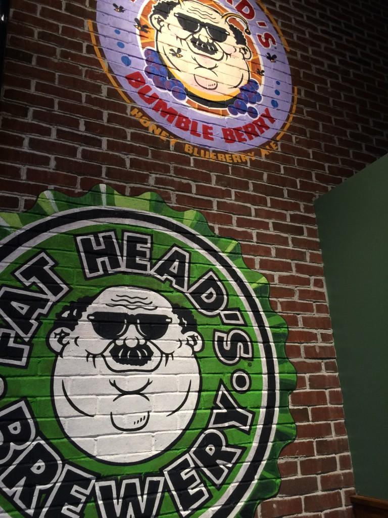 Fat Head's Portland Wall