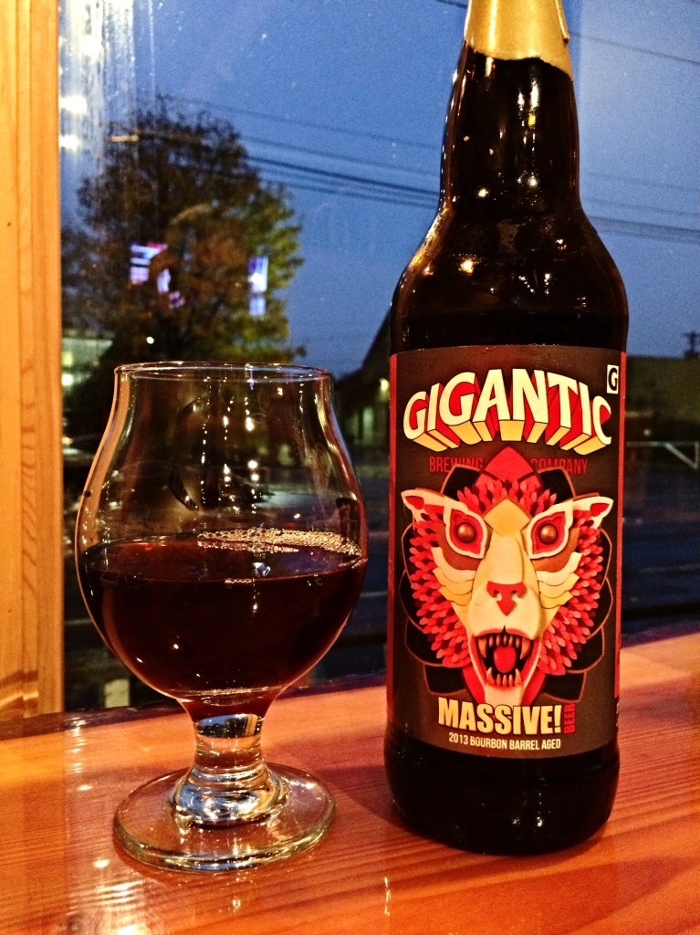 Gigantic MASSIVE 2013 Bourbon Barrel Aged