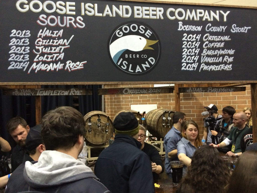 Goose Island Goes Big at 2014 FoBAB