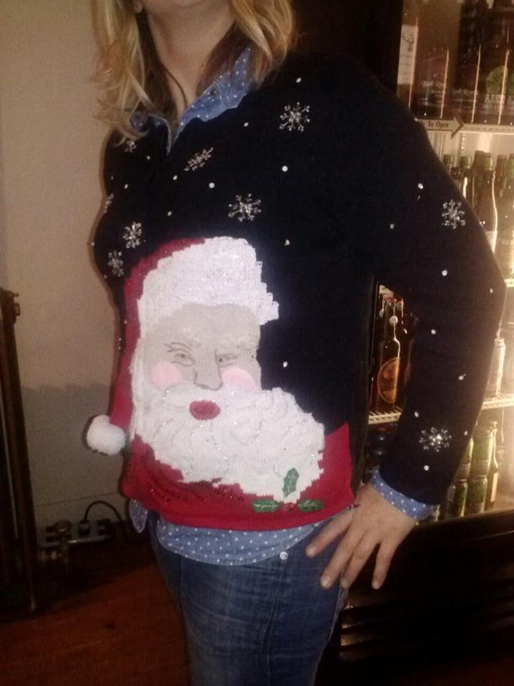 2014 NWIPA Ugly Sweater Winner Jamie