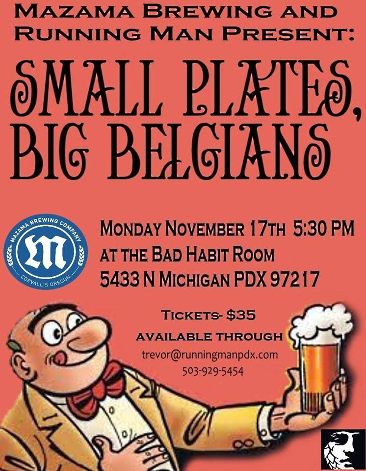 Small Plates, Big Belgians