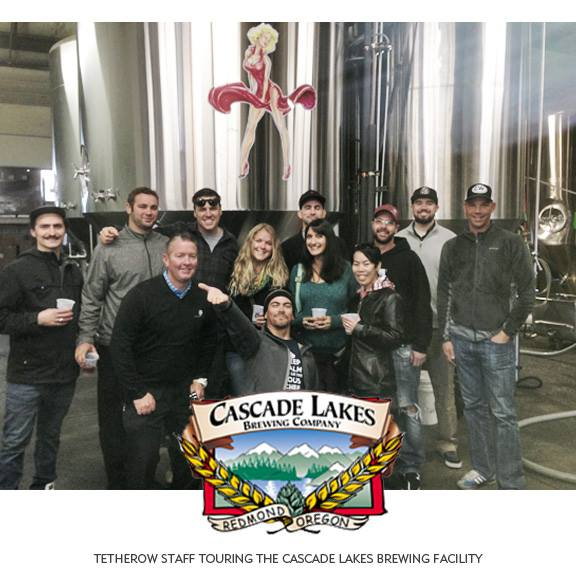 Tehterow Staff Touring Cascade Lakes Brewing