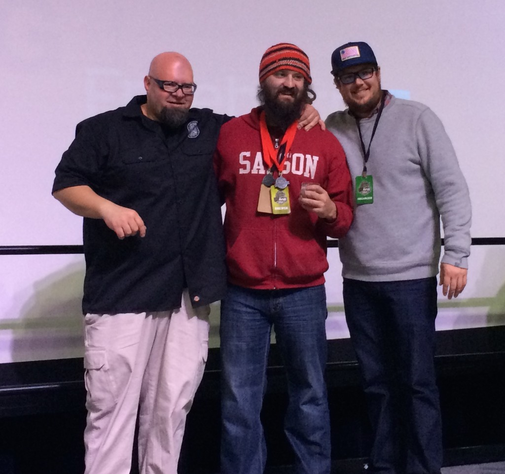 TRiNiTY BREWiNG's Jason Yester Receives Two Medals at 2014 FoBAB