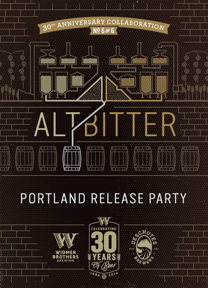 Widmer Deschutes AltBitter Portland Release Party