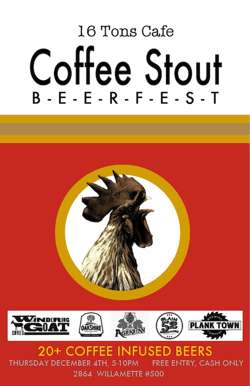16 Tons Cafe Coffe Stout Beerfest