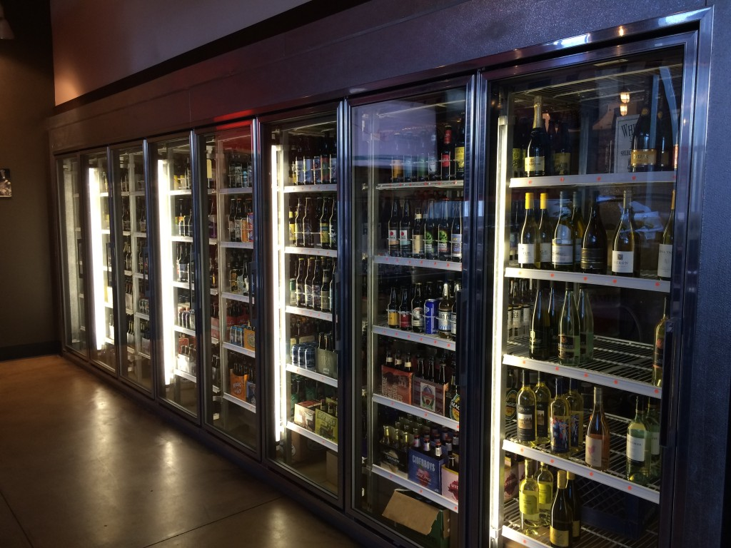 8 Cooler Doors at The Civic Taproom & Bottleshop