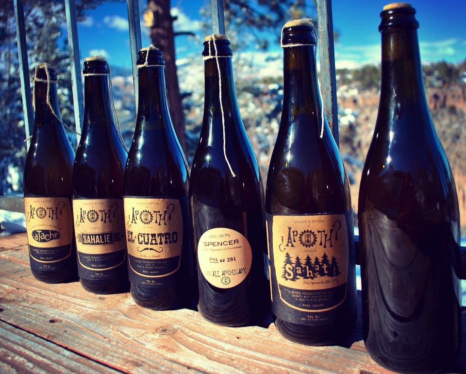 Ale Apothecary Bottles