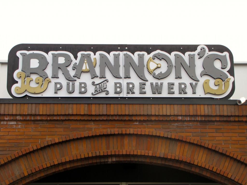 Brannons Pub & Brewery Entrance