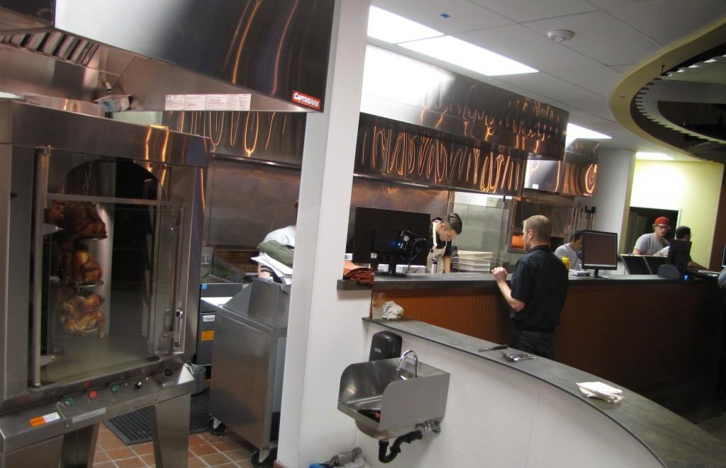 Kitchen at Brannon's Pub & Brewery