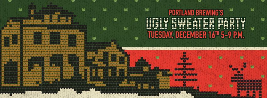Portland Brewing Ugly Sweater Party