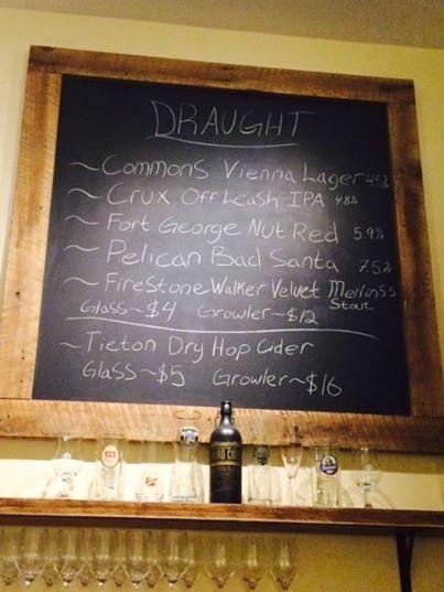 Prospect Bottleshop Draft Chalkboard