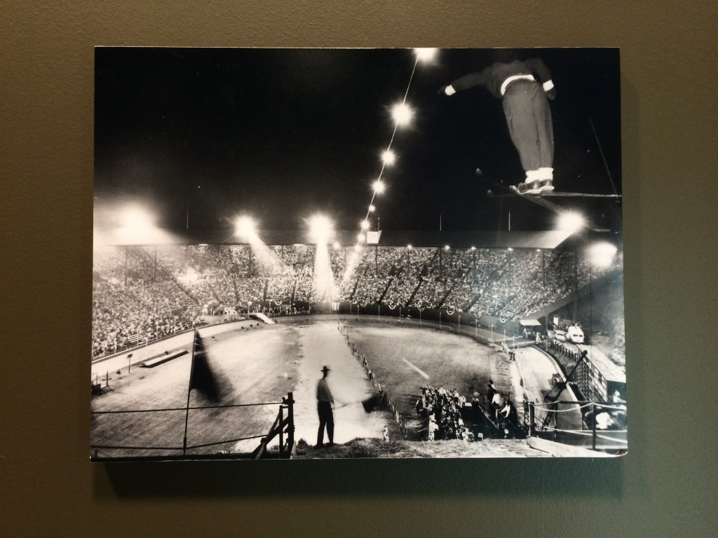 Ski Jump at Civic Stadium at The Civic Taproom & Bottleshop