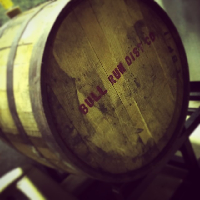 StormBreaker Barrel-Age Bull Run Distilling Anniversary Beer in the making...