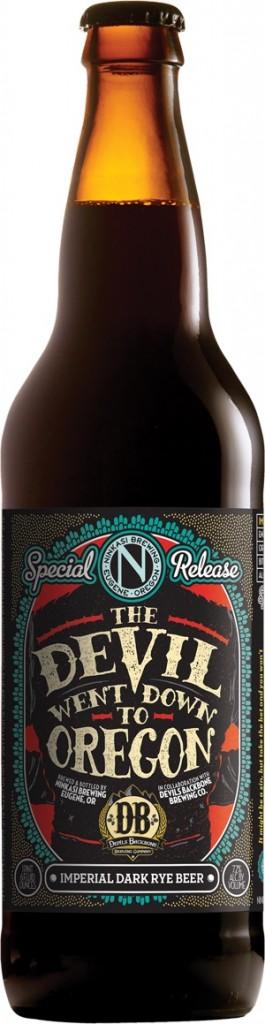 The Devil Went Down To Oregon Bottle