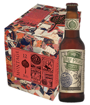 Winter-Spring Montage Variety 12 Pack featuring Wolf Picker Experimental Pale Ale