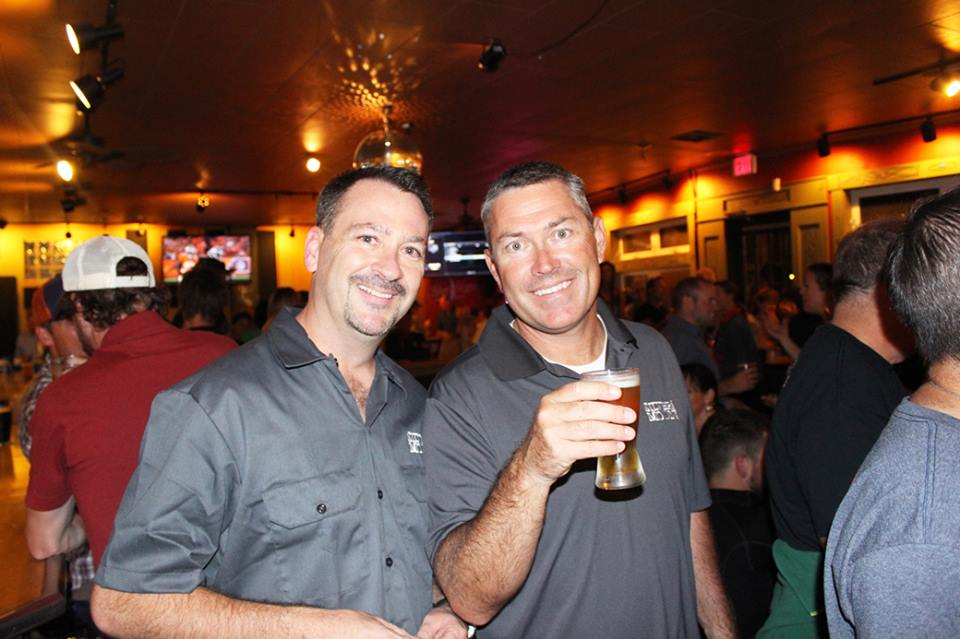 Silver Moon Brewing Co.'s Matt Barrett and James Watts