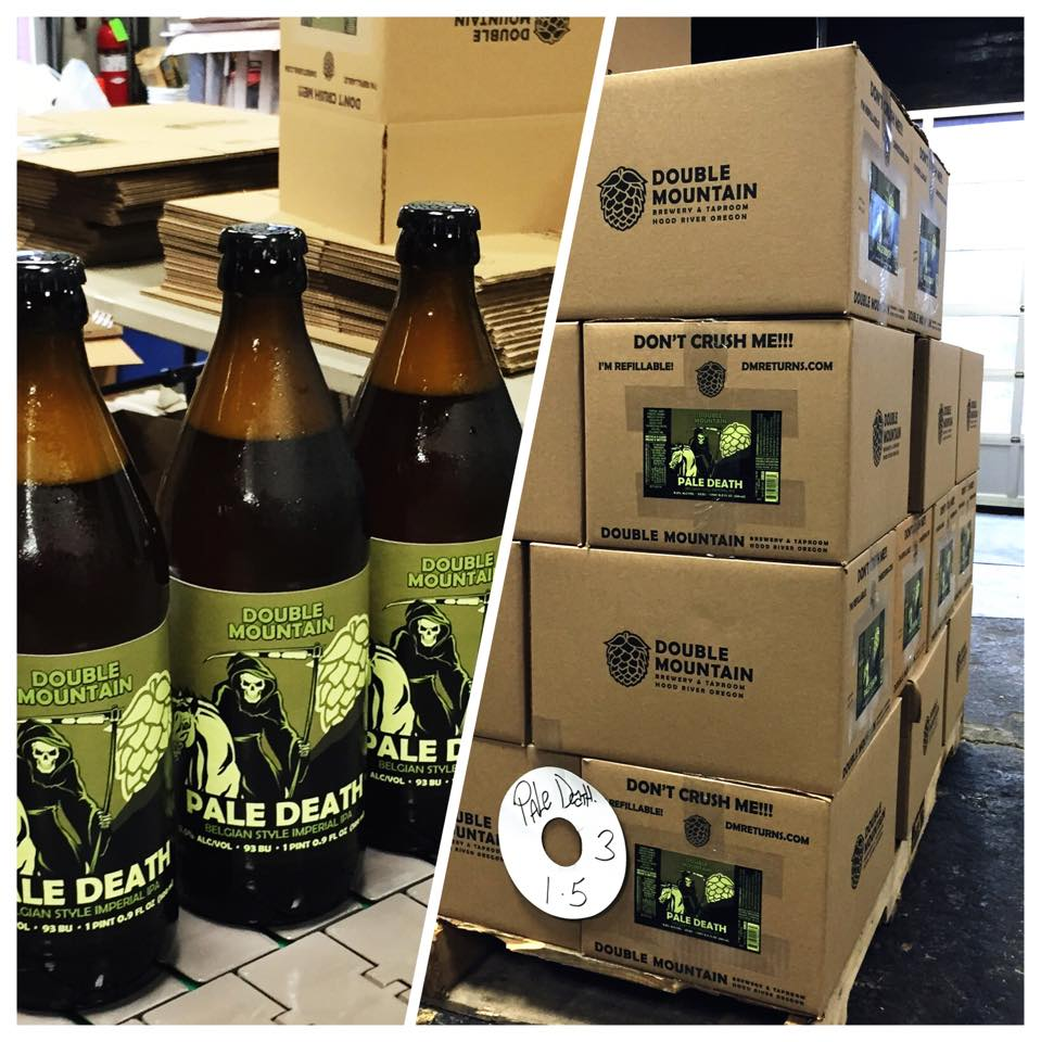 Double Mountain Pale Death Bottles