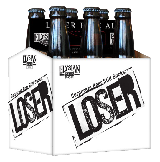 Elysian Sub Pop Loser Pale Ale 6 Pack