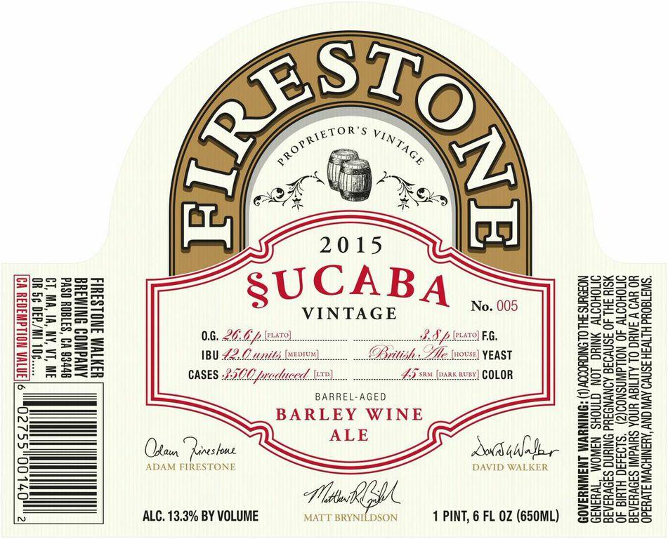 Firestone Waler §ucaba Label