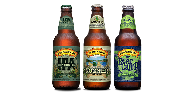 Sierra Nevada 3 New 2015 Beers