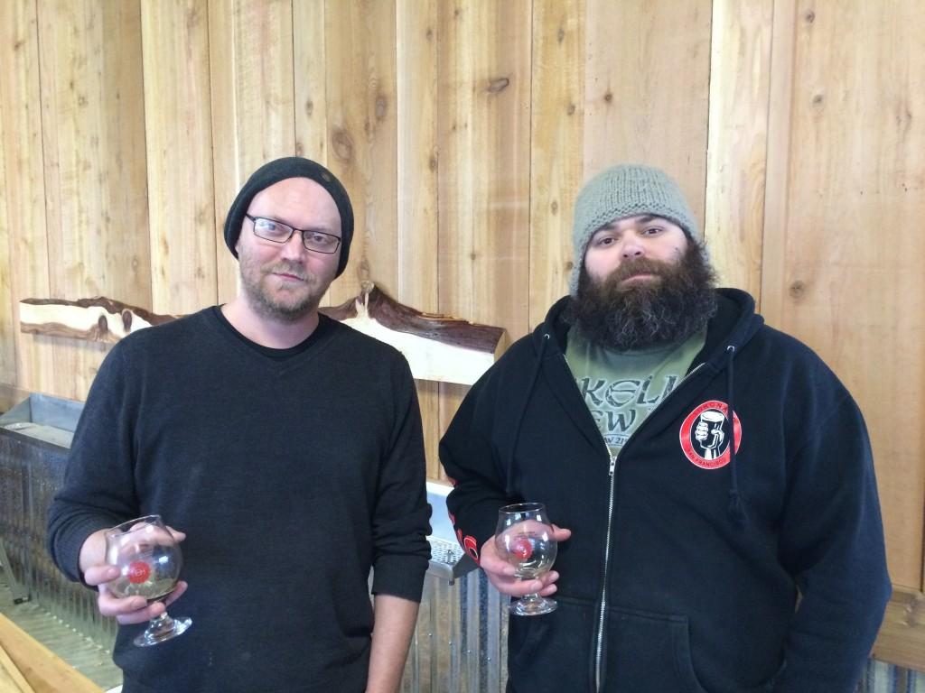 Tomas Sluiter and Brad Basile of Culmination Brewing