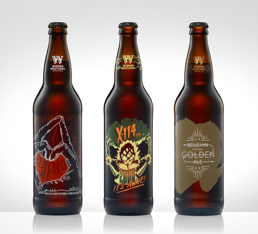 Widmer Rejected Ale, X-114, and Belgian Golden Ale