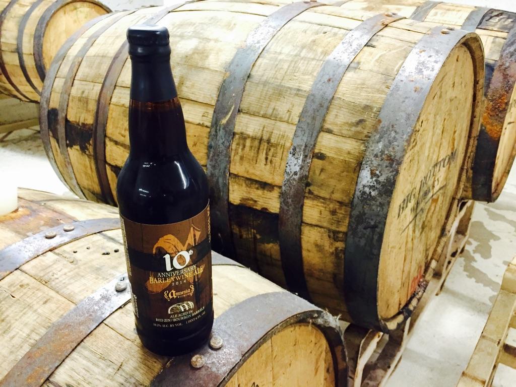 Amnesia Brewery's 10th Anniversary Barrel-Aged Barleywine