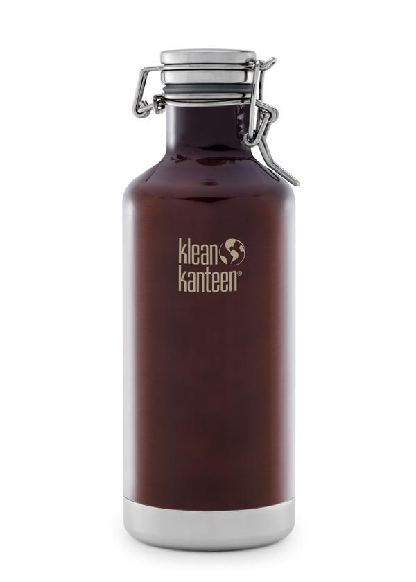32oz Klean Kanteen Growler in Dark Amber