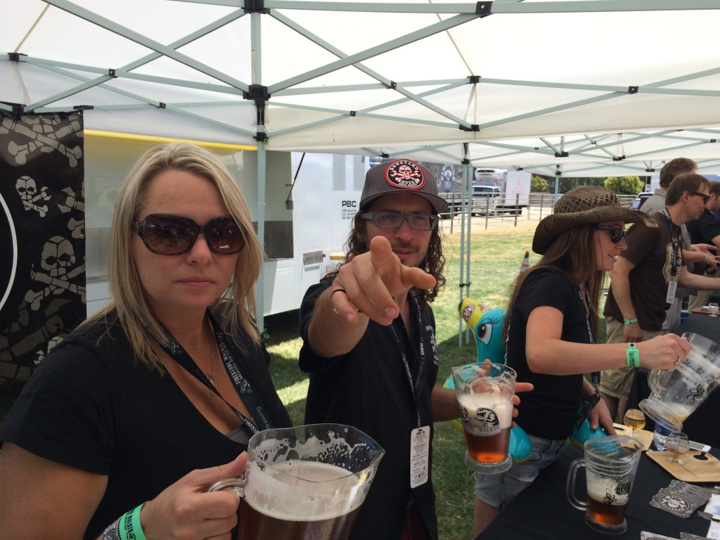 Boneyard pouring at 2014 Firestone Walker Invitational Beer Fest
