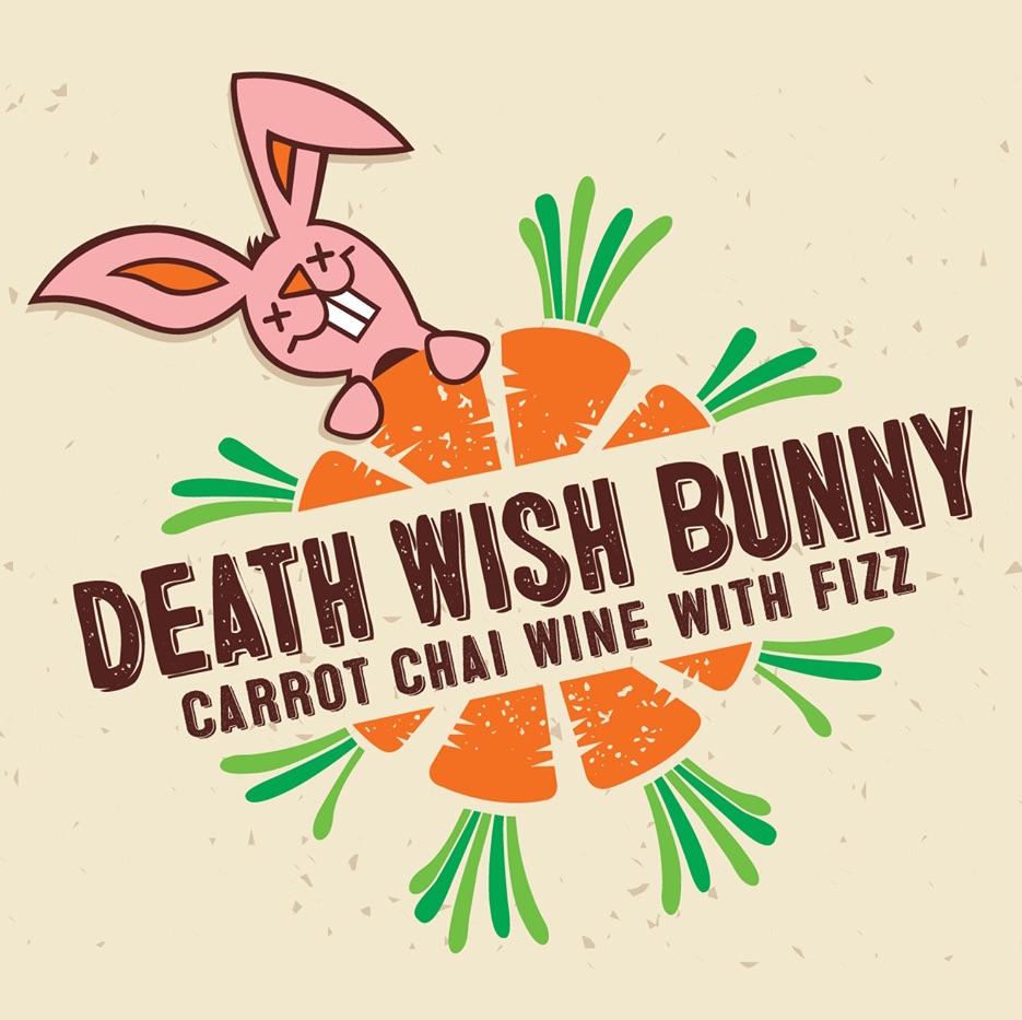 Death Wish Bunny Carrot Chai Wine With Fizz