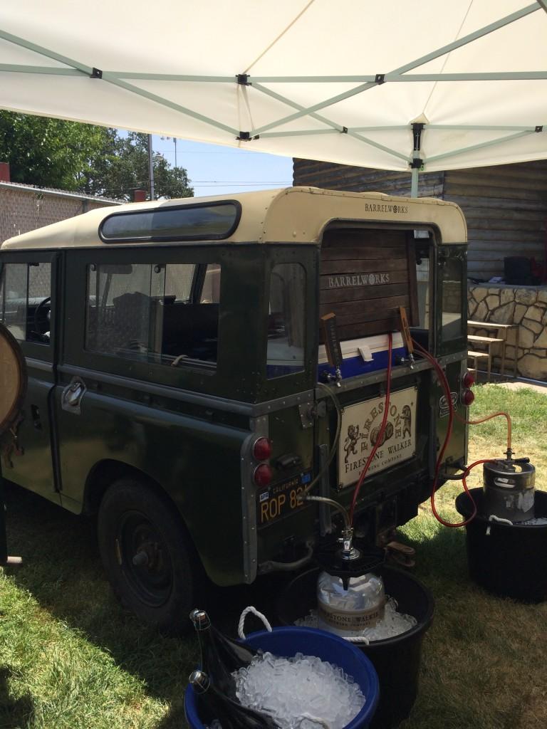 Firestone Walker Jeep at 2014 Firestone Walker Invitational Beer Fest