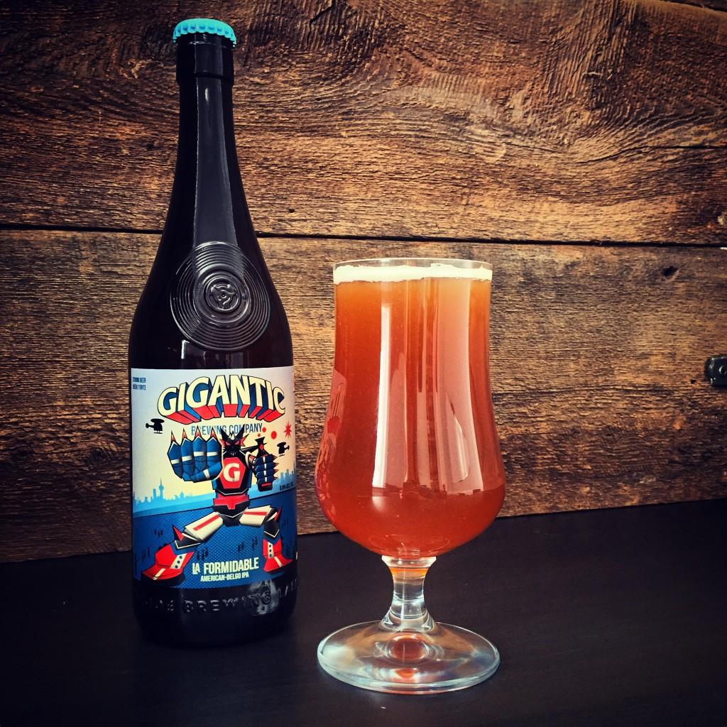 Gigantic Brewing & Beau's Berwery La Formidable American-Belgo IPA