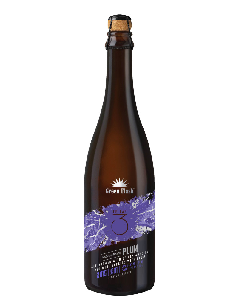 Green Flash cellar 3 natura morta plum
